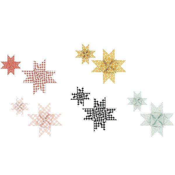 Rico Design Fröbelstreifen graphic pastell 60 Stück