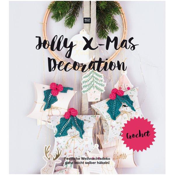 Rico Design Häkelbuch Jolly X-Mas Decoration