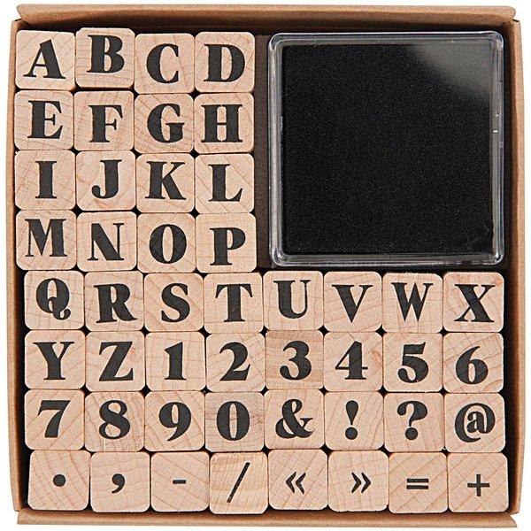 Paper Poetry Stempelset ABC2 48 Stück
