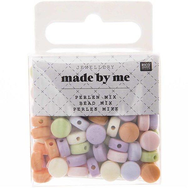 Jewellery Made by Me Perlen-Mix rund pastel ca. 165 Stück