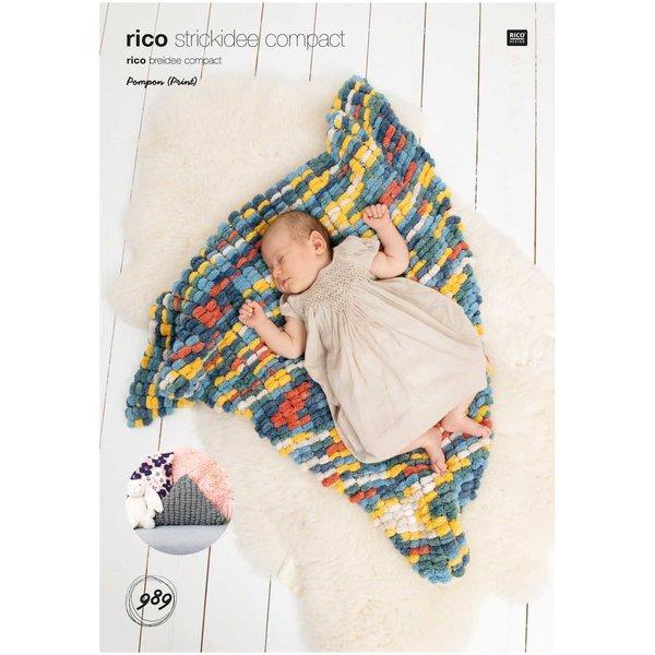 Rico Design Strickidee compact Nr.989 Creative Pompon (Print)