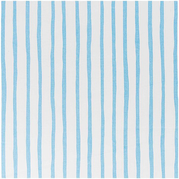 Rico Design Stoff Streifen weiß-hellblau 50x160cm