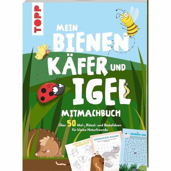 TOPP Mein Bienen, Käfer und Igel Mitmachbuch