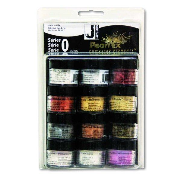 JACQUARD Pearl Ex Powdered Pigments Set Series 1