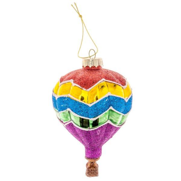 Baumschmuck Heißluftballon Glitter 11cm