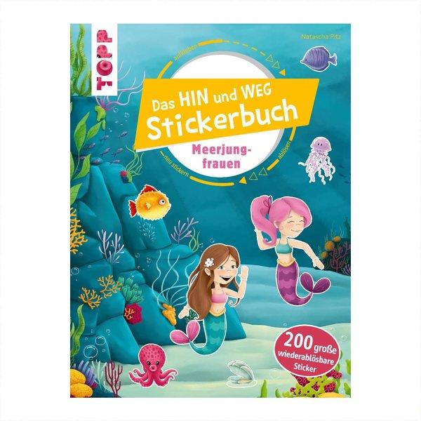 TOPP Das Hin-und-weg-Stickerbuch Meerjungfrauen