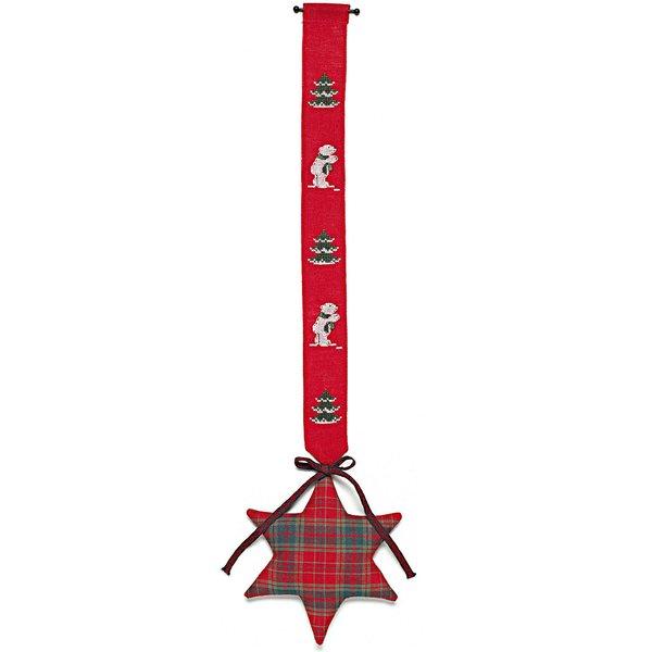 Rico Design Stickpackung Behang Eisbär mit Stern 17x62cm