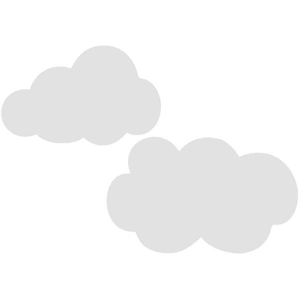 Rico Design Cardboard Wolken 3 Stück