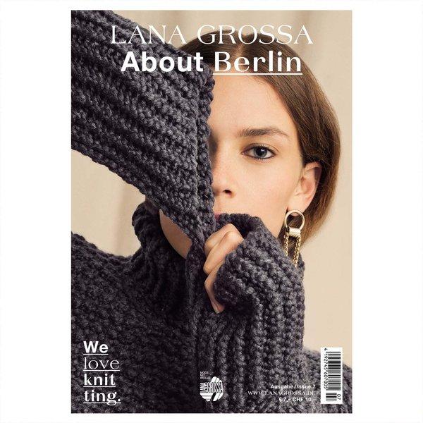 Lana Grossa Strickheft About Berlin Nr.7 Herbst-Winter 2019