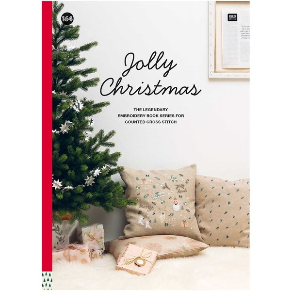 Rico Design Stickbuch Jolly Christmas Nr. 164