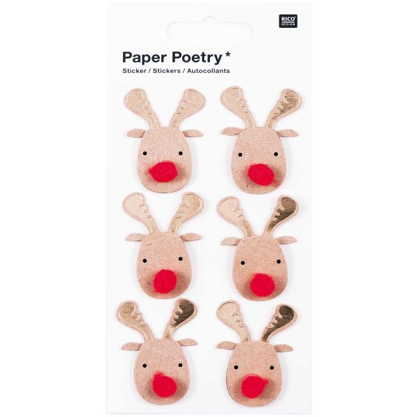 Paper Poetry 3D Sticker Elche Hot Foil