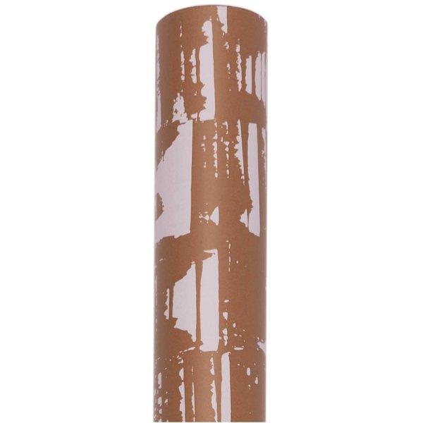 Paper Poetry Geschenkpapier Struktur braun 70cm 2m