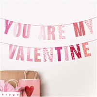 Paper Poetry Girlande You are my valentine 3m