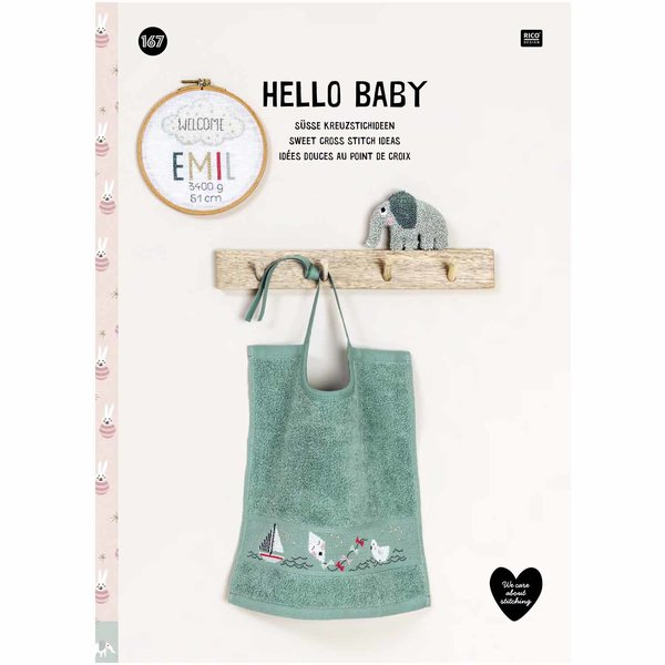 Rico Design Stickbuch Hello Baby Nr. 167