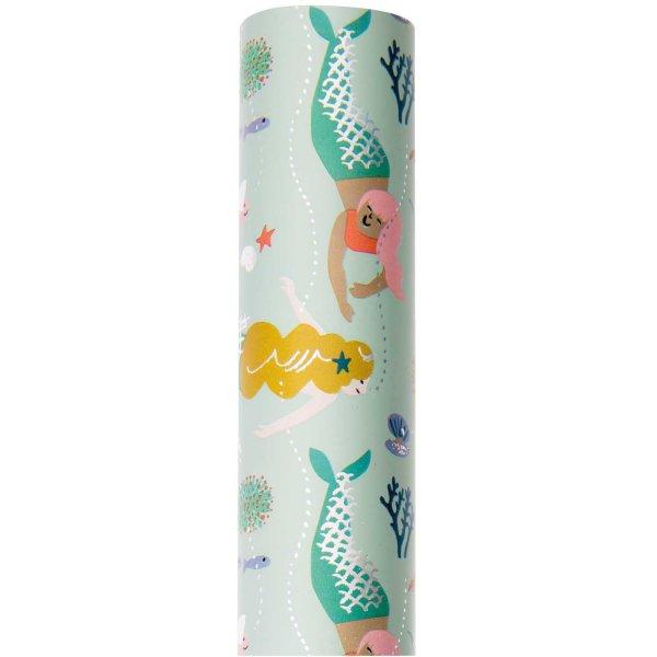 Paper Poetry Geschenkpapier Mermaid 70cm 2m