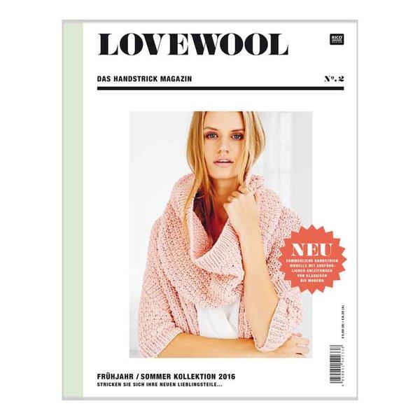 Rico Design Lovewool Nr.2 Handstrickmagazin Frühjahr-Sommer 2016