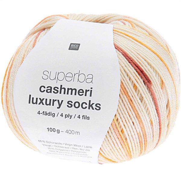 Rico Design Superba Cashmeri Luxury Socks 4fädig 100g 400m