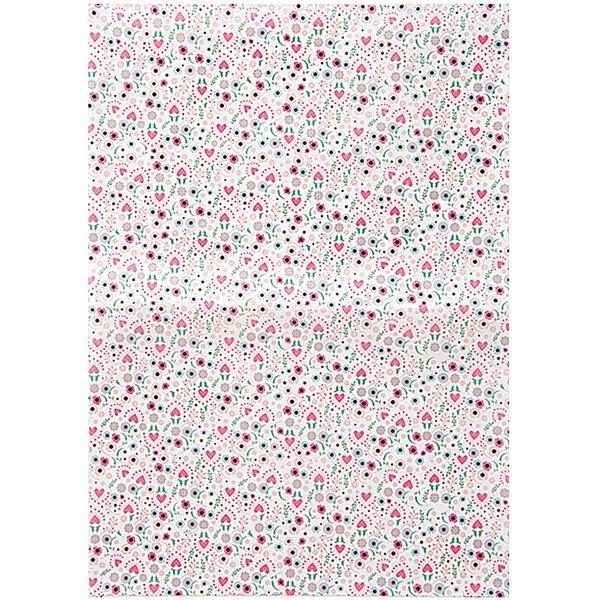 Rico Design Paper Patch Papier Blumen mehrfarbig 30x42cm