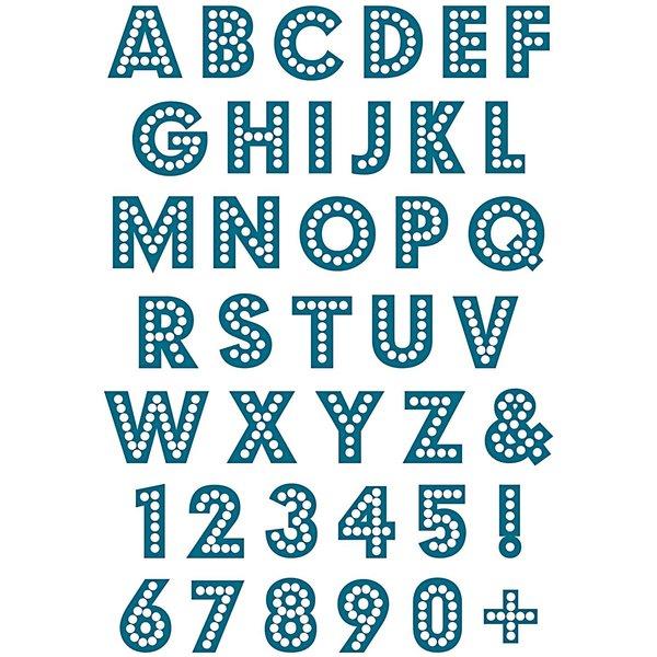 Paper Poetry Silikonstempel Alphabet und Zahlen klein