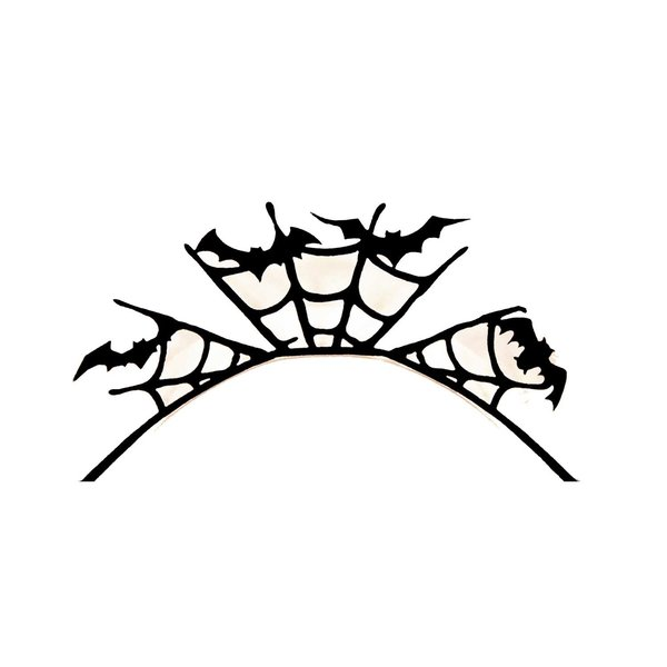 Eulenspiegel 3D Wimpern Fledermaus