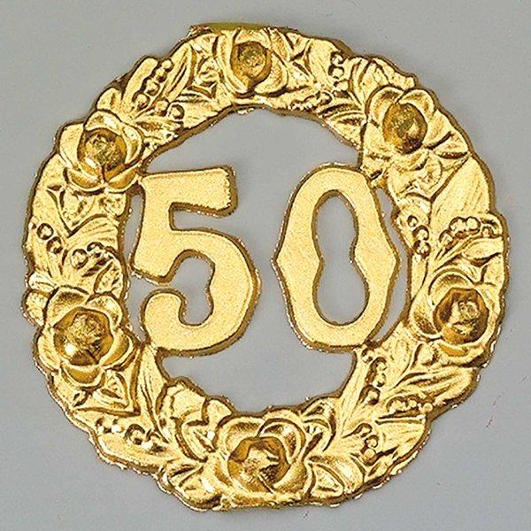 efco Wachsdekor Kranz 50 gold 6,5cm