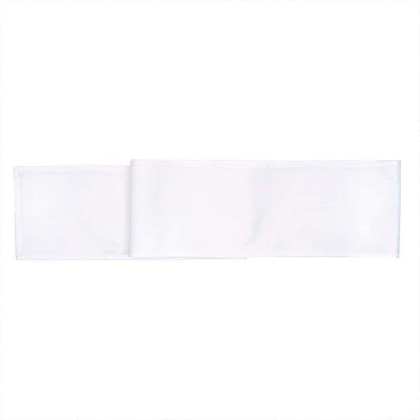 Rico Design Tischband weiß 180x12cm