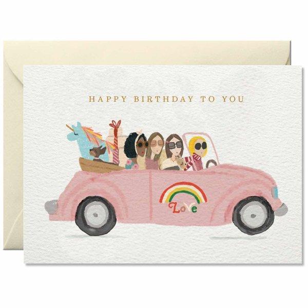 Nelly Castro Grußkarte Happy Birthday to you 10,5x14,8cm