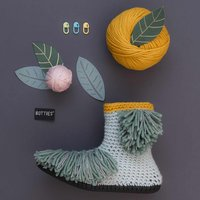 Häkelbotties® mit Rico Design Essentials Mega Wool