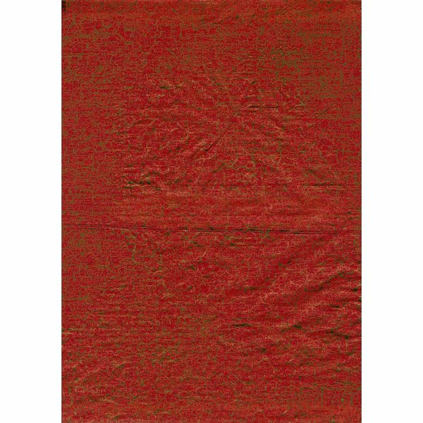 décopatch Papier crackle orange 3 Bogen