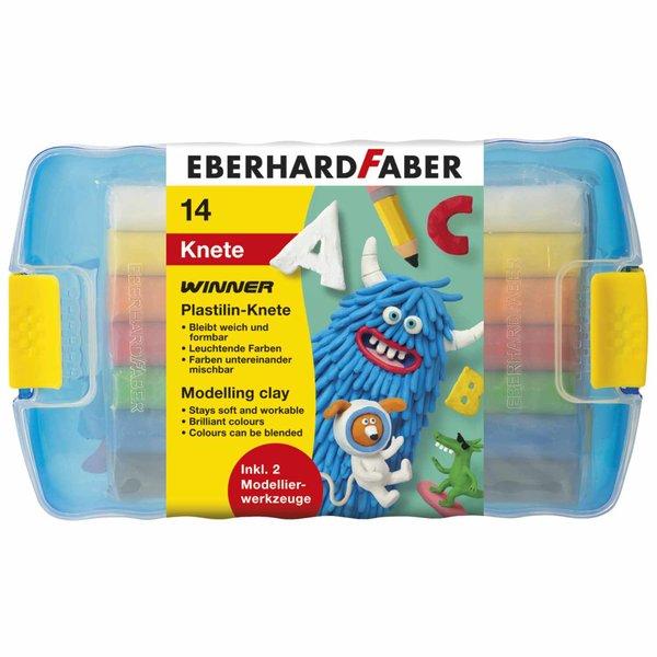Eberhard Faber Plastilin-Knete Winner 14er Box