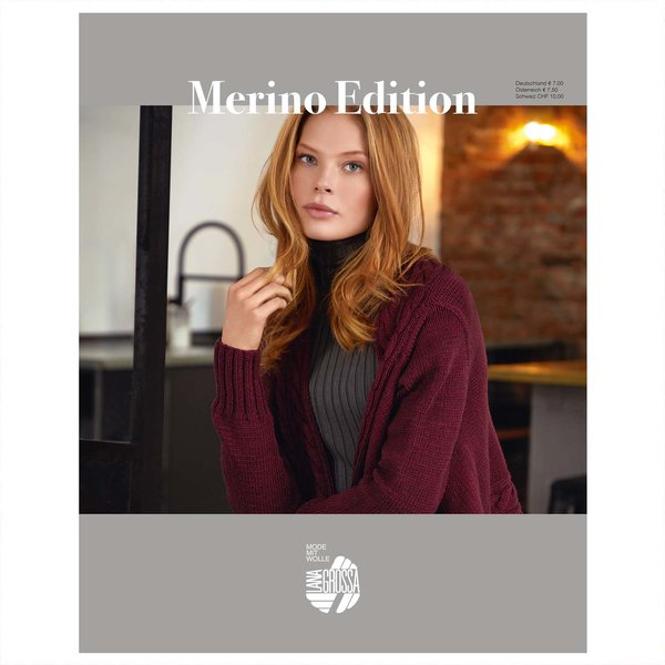 Lana Grossa Strickheft Merino Edition Nr.1 Herbst-Winter 2019