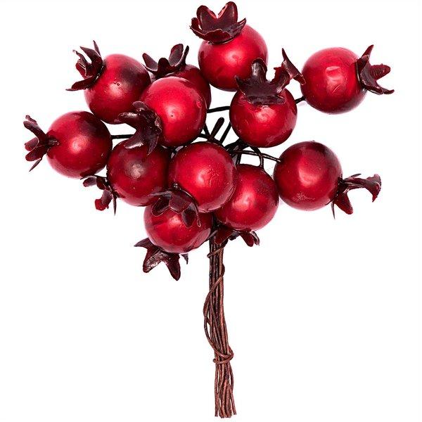 Beerenpick rot 9x1,5cm 12teilig