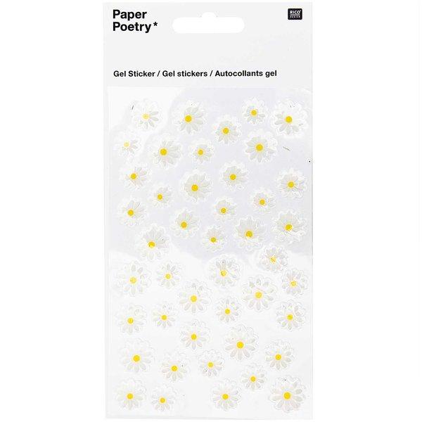 Paper Poetry Gelsticker Gänseblümchen