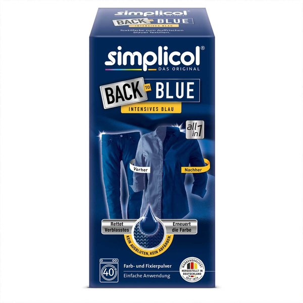 simplicol Back-to-Blue Farberneuerung 400g