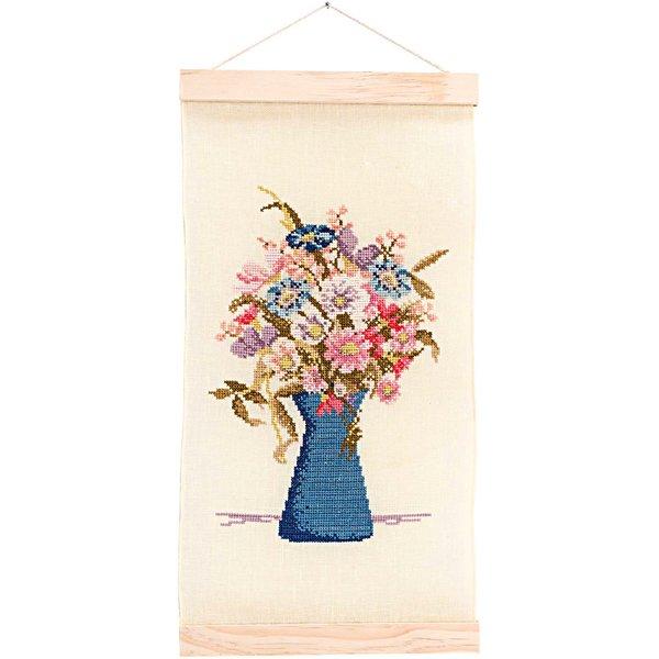 Rico Design Stickpackung Behang Blumenstrauß 20x36cm