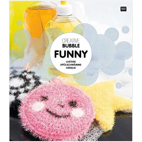Rico Design Creative Bubble Funny - lustige Spülschwämme häkeln