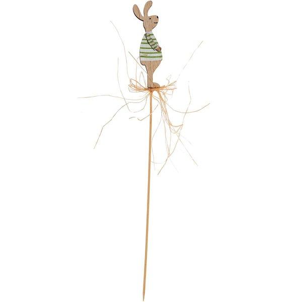 Pick Hase aus Holz natur 29cm
