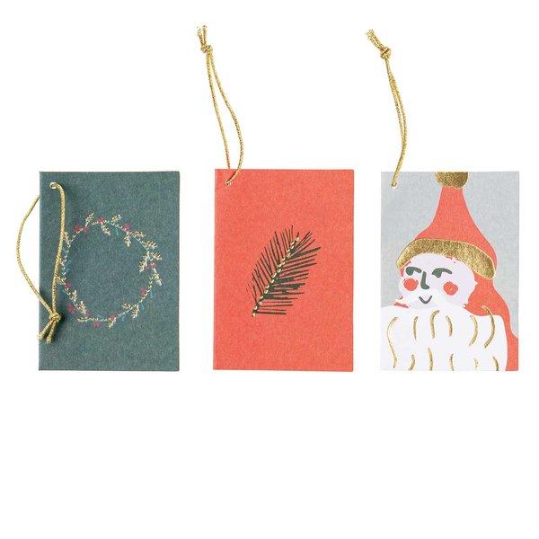 Paper Poetry Kärtchenanhänger Nostalgic Christmas classic 6 Stück