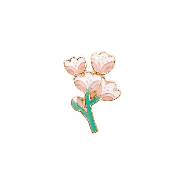 Jewellery Made by Me Pin Kirschblüte 17x25mm