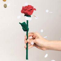 Häkelanleitung Ricorumi-Rose