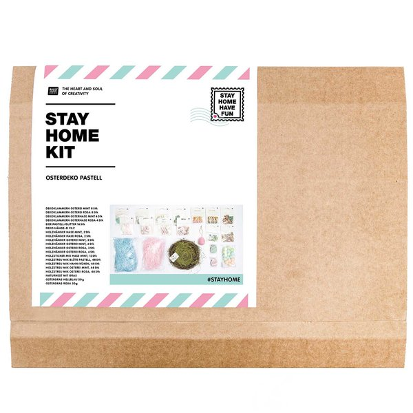 Rico Design #stayhome Kit Osterdekoration Pastell