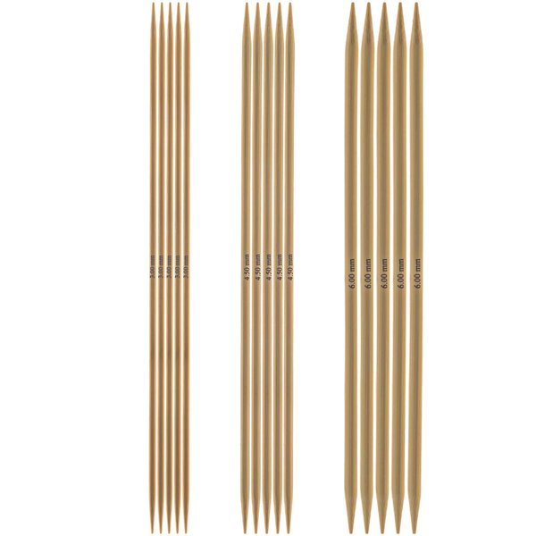 Rico Design Nadelspiel 20cm Bambus