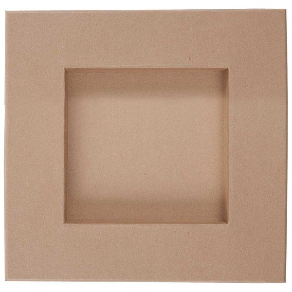 Rico Design Pappschale quadratisch 22x22x4cm