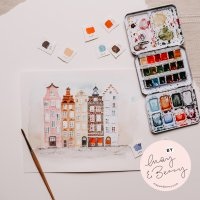 Urban Watercoloring mit May & Berry