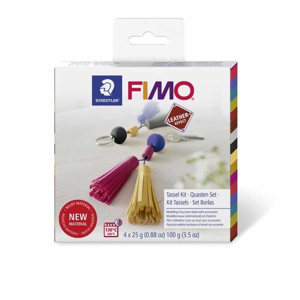 Staedtler FIMO Leather effect Set Quasten
