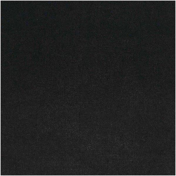 Rico Design Stoff uni schwarz 50x140cm
