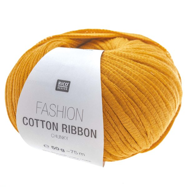 Rico Design Fashion Cotton Ribbon Chunky 50g 75m