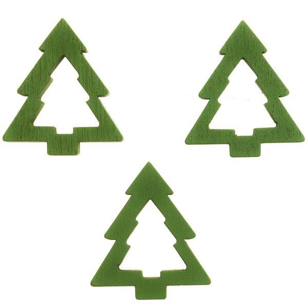 Tannenstreu grün 3cm 12 Stück