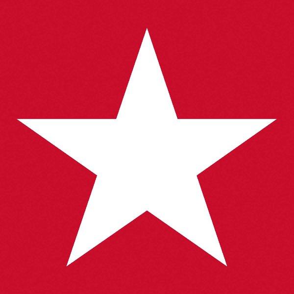Ambiente Serviette Star red 33x33cm 20 Stück