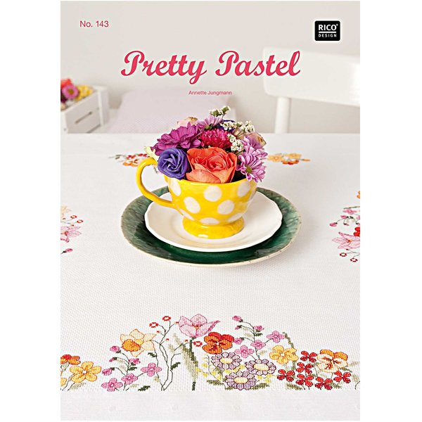 Rico Design Stickbuch Pretty Pastel Nr.143
